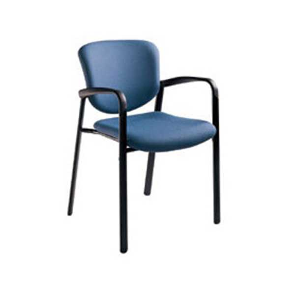 Haworth Improv Blue Leg Base Stacking Chairs