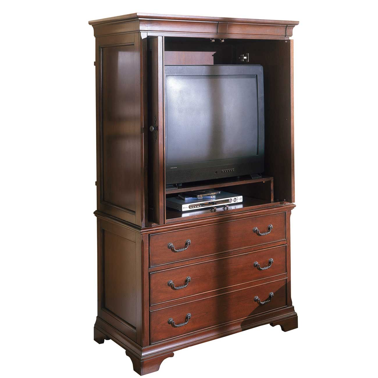 Home Office Equipment Cabinet with Three Drawers