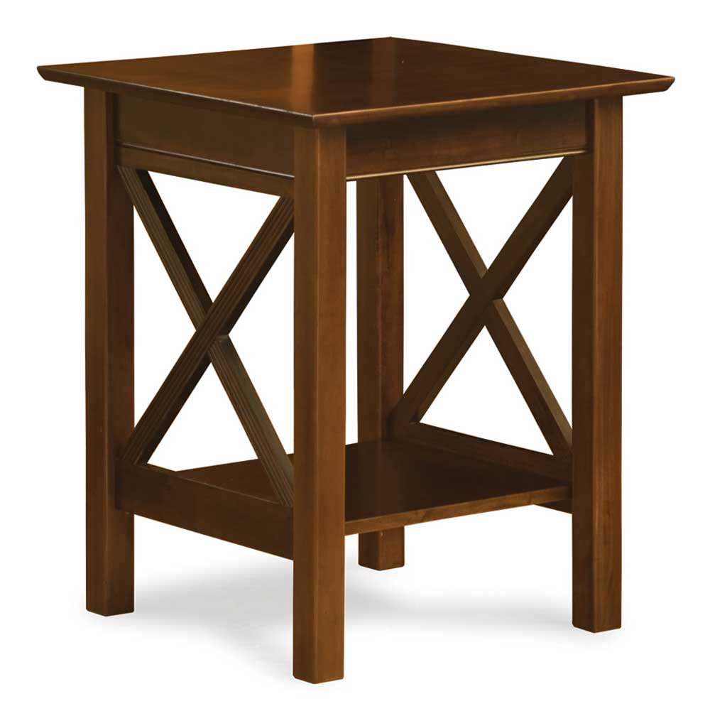 Home office compact wooden writing table