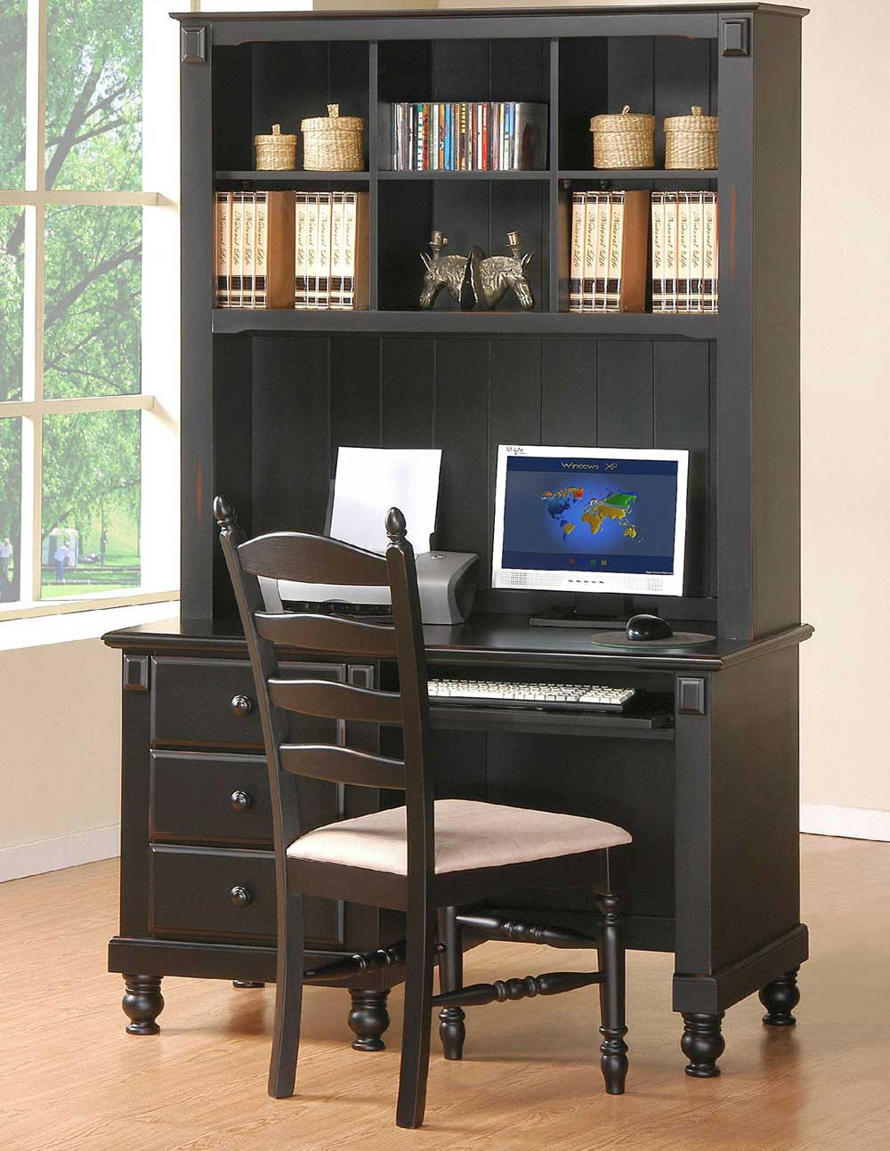Homelegance Pottery Supersize Writing Chair and Desk