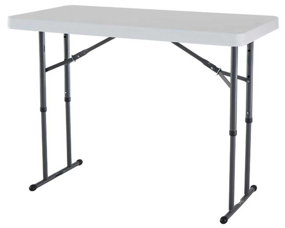 Lifetime Folding Table with Adjustable Height Legs