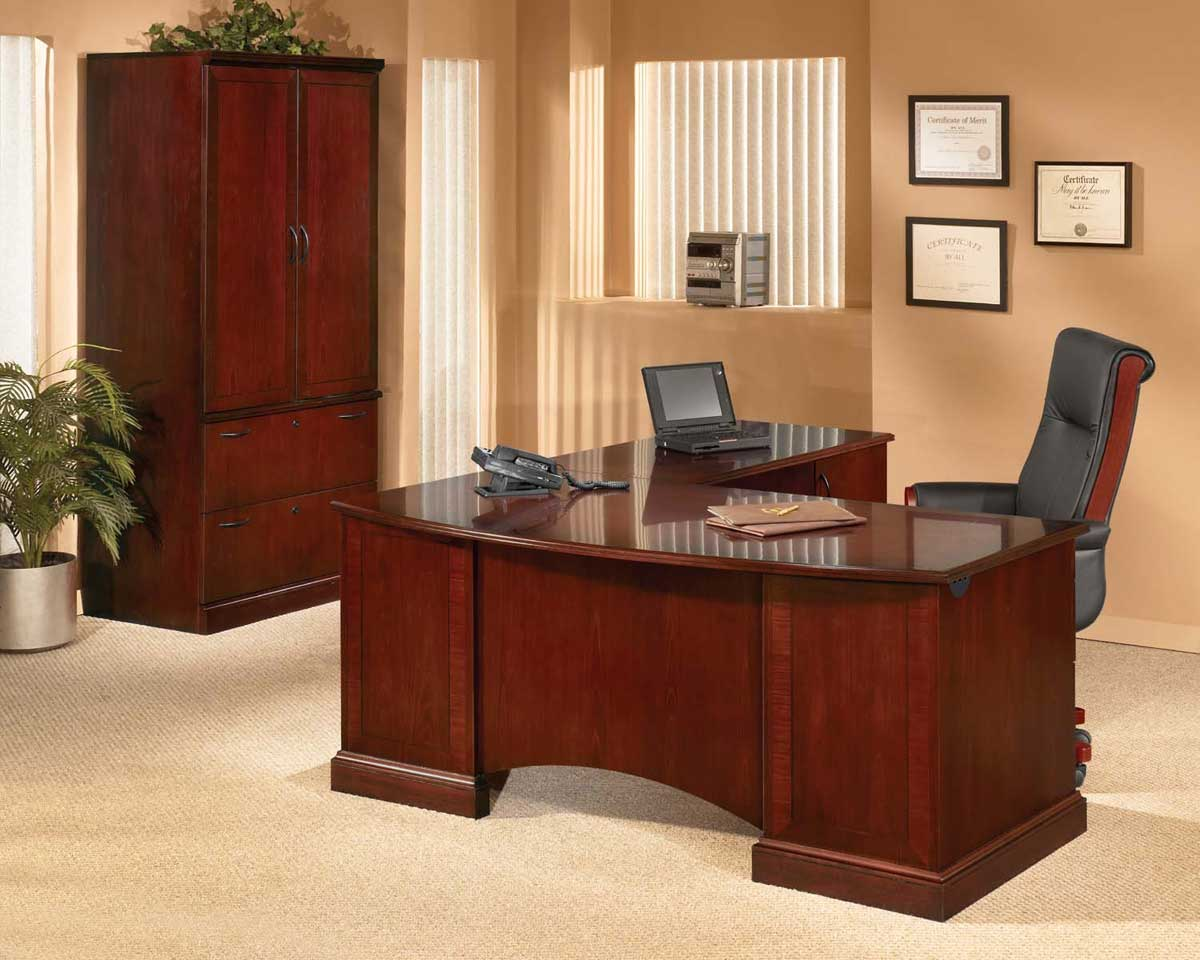 Mira wooden workspaces style at Value Office Furniture