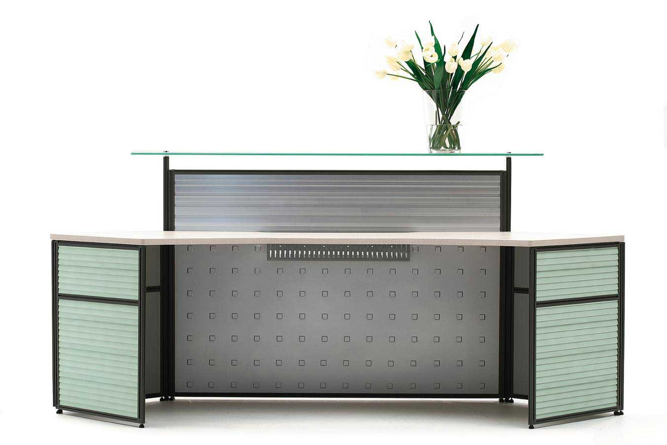 NUMEN Modern Office Thin Reception Desk