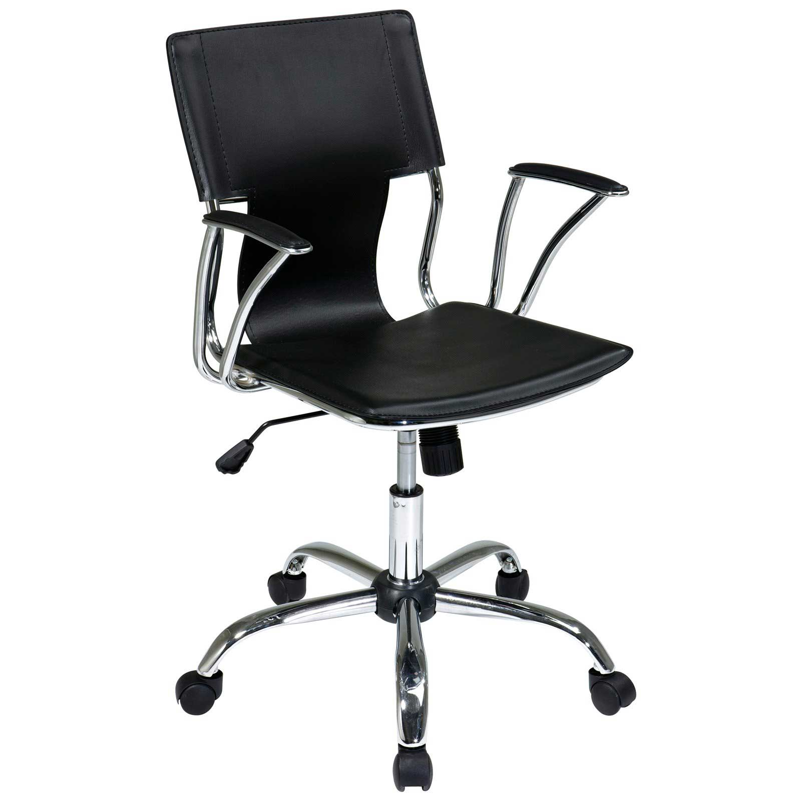 Office Star Ergonomic Black Office Chair Avenue Six Series
