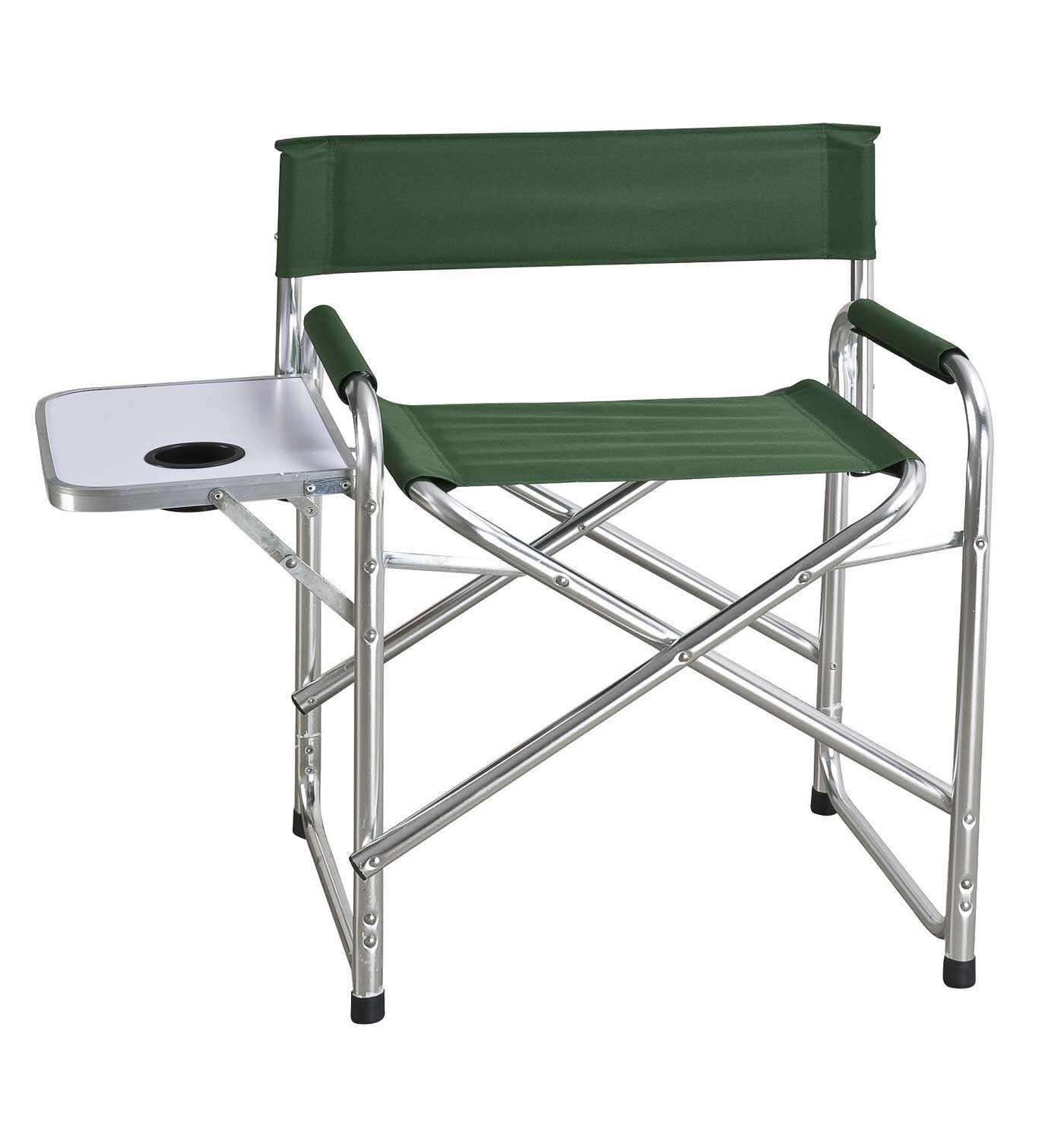 Portable Director Chair with Side Table