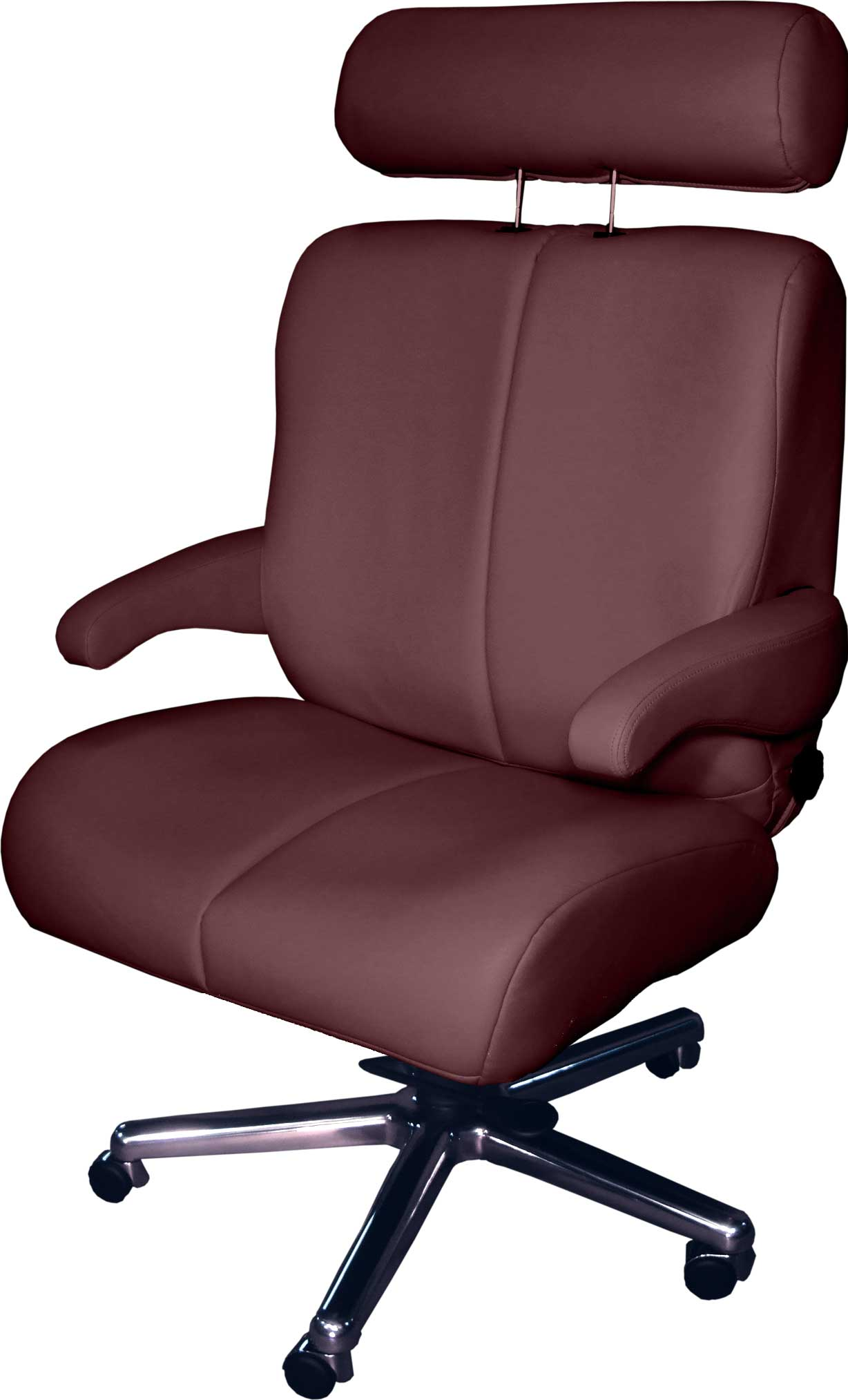 Red Wide First Class Luxury Office Chair