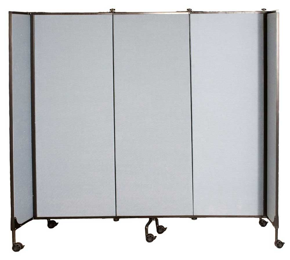Screenflex portable partitions with wheels
