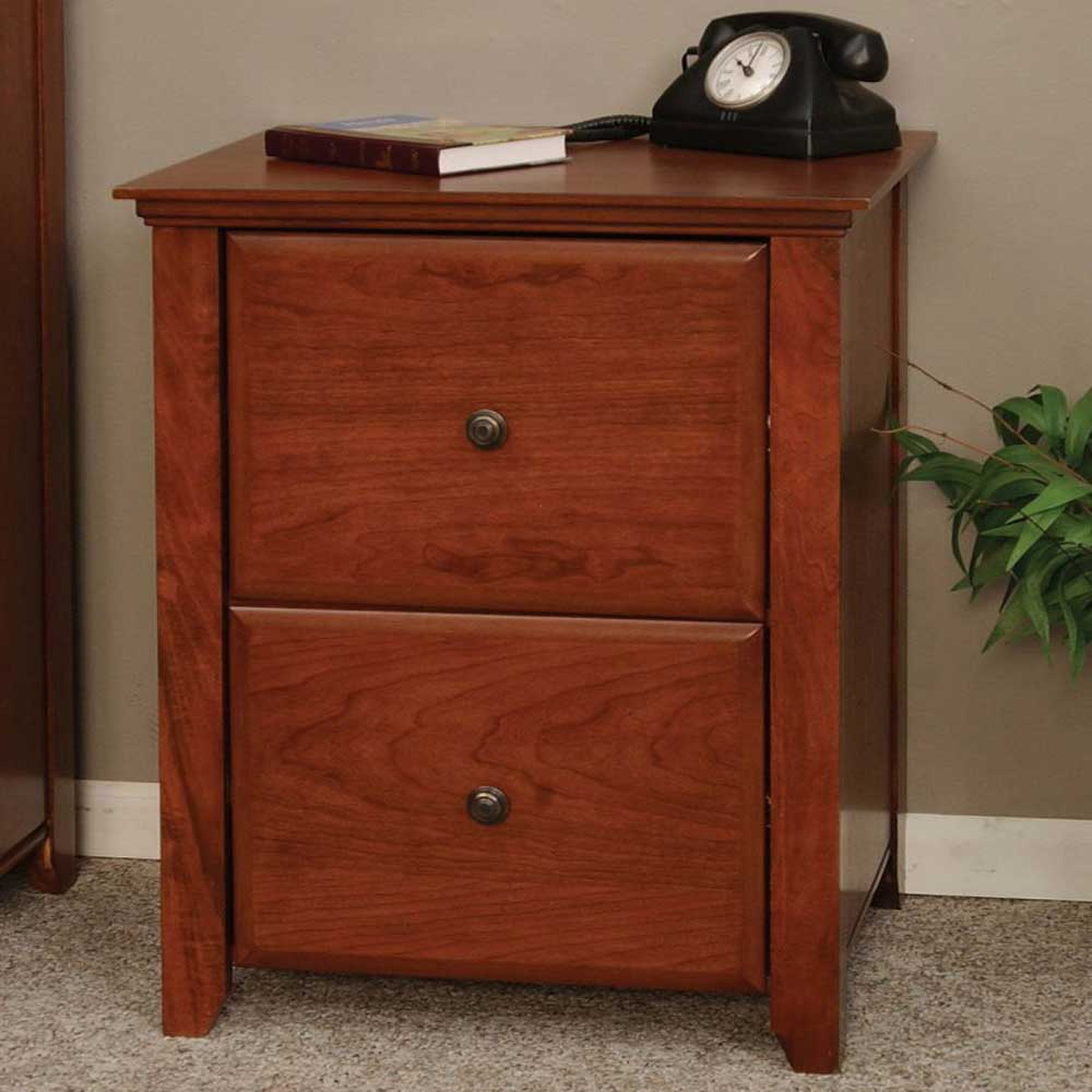 Small vertical legal and letter file cabinet