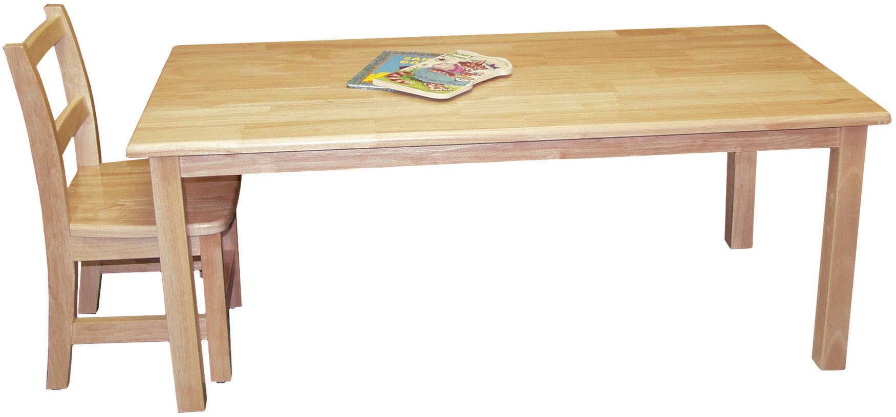 Solid Wood Folding Table and Chair Design