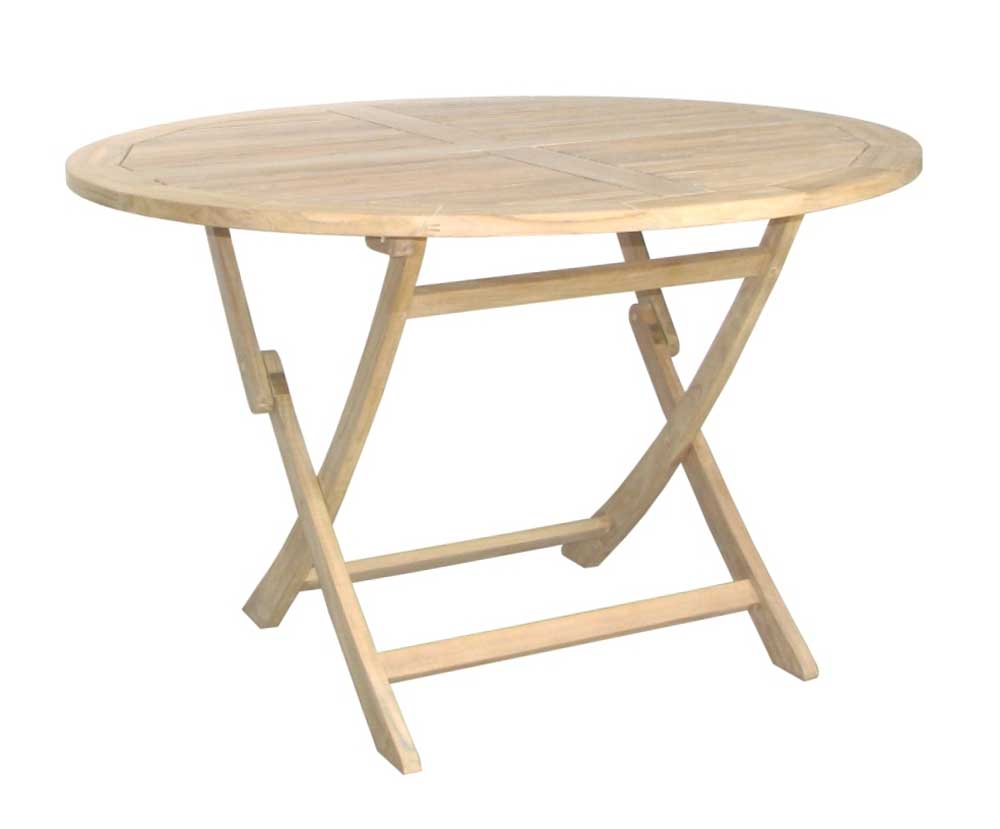 Solid wood folding outdoor tables