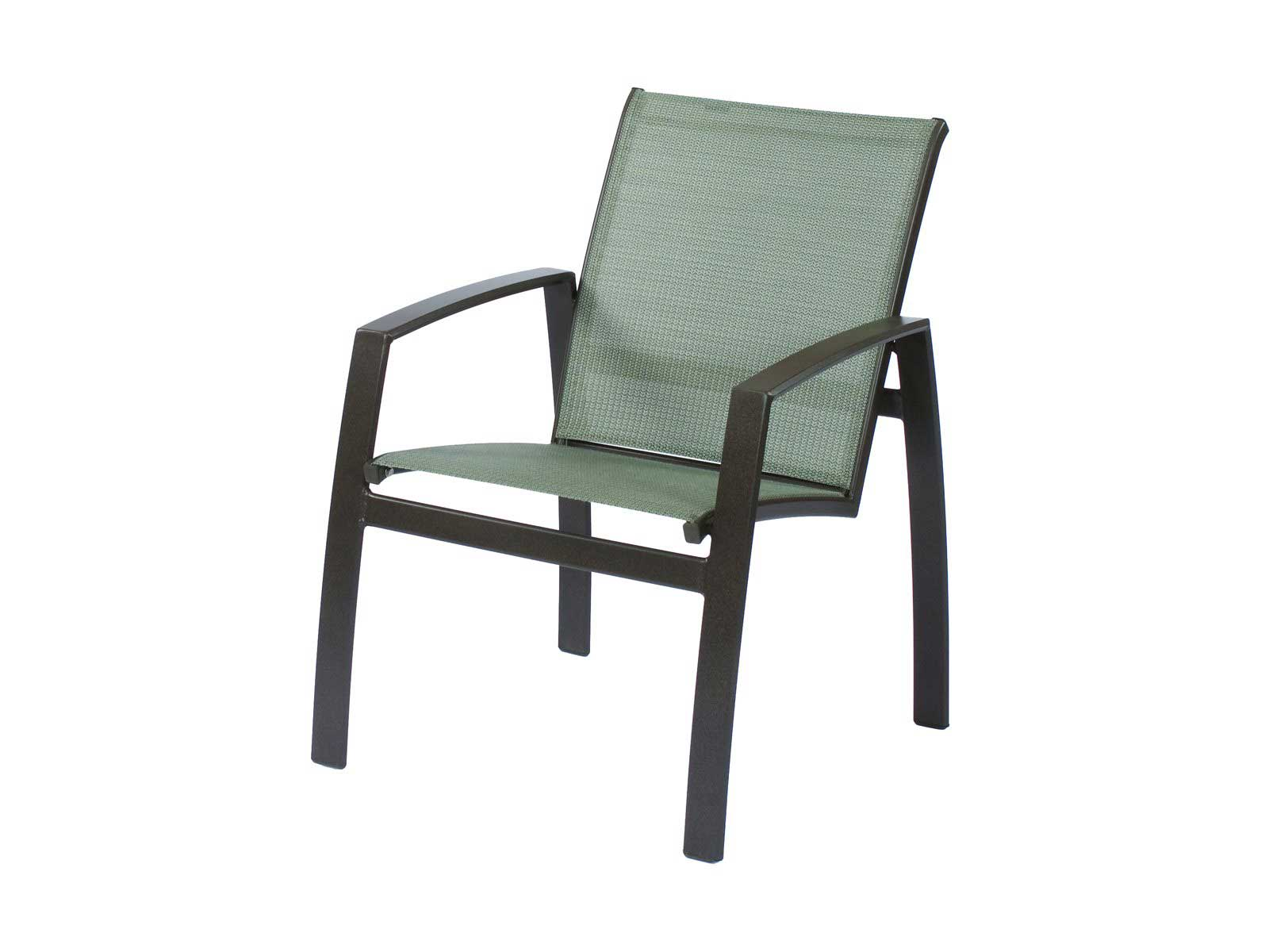 Suncoast Vision Cast Aluminum Seat in Sling Design