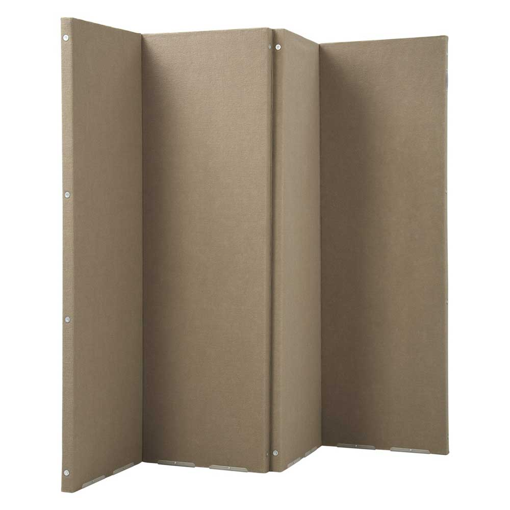Versare Versifold Sound Control Brown Room Partitions