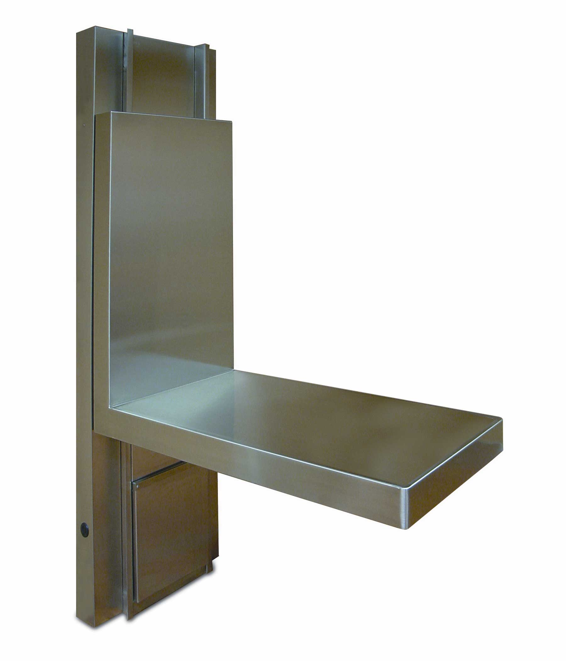 Veterinary Lift Wall Folding Table