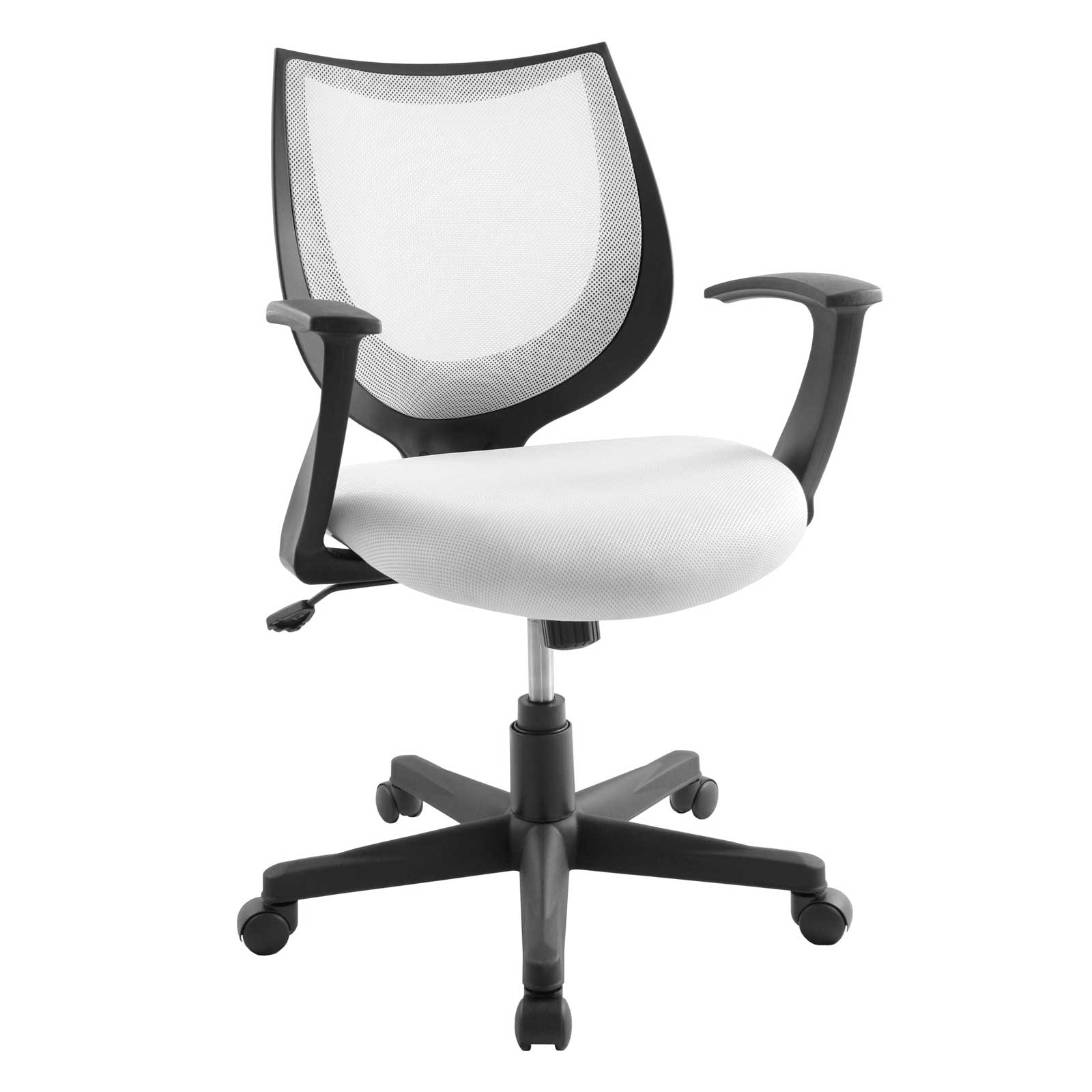 White Back Mesh Viper Arm Office Chair