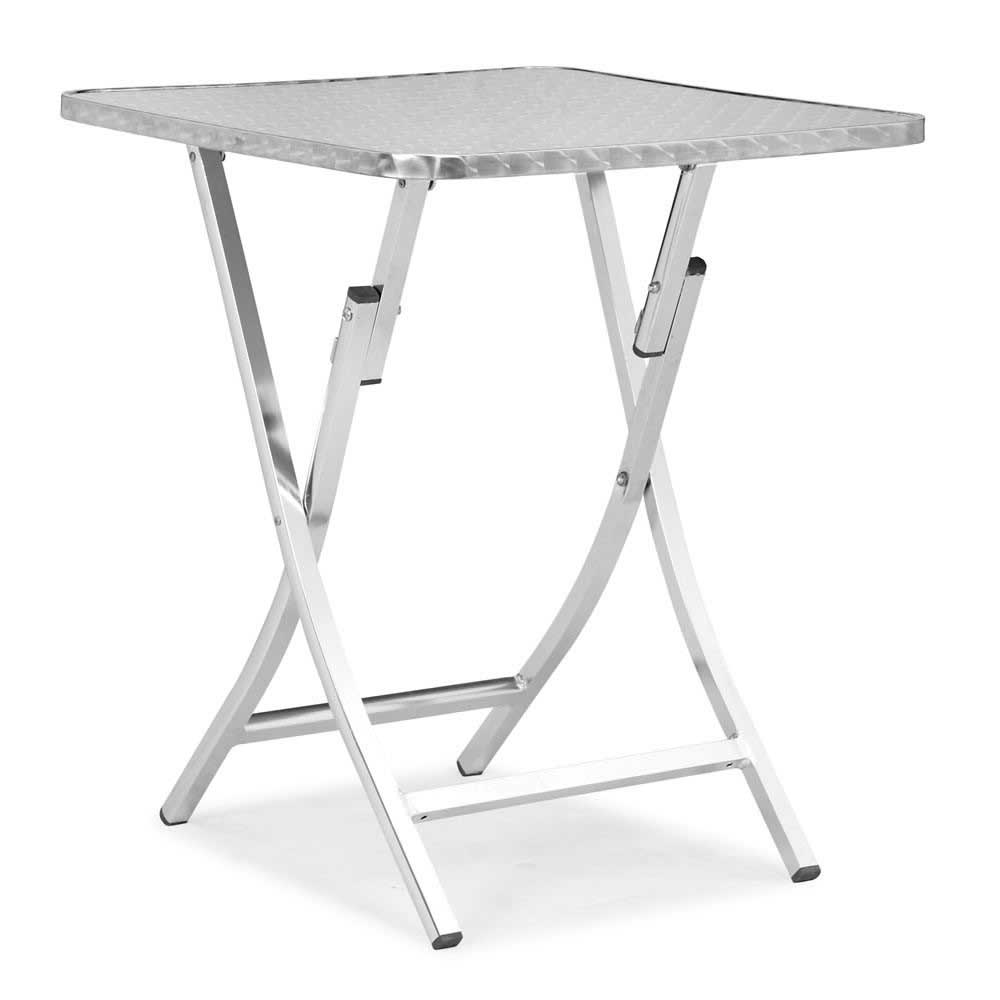 Zuo Modern Bard Aluminum Modern Folding Table
