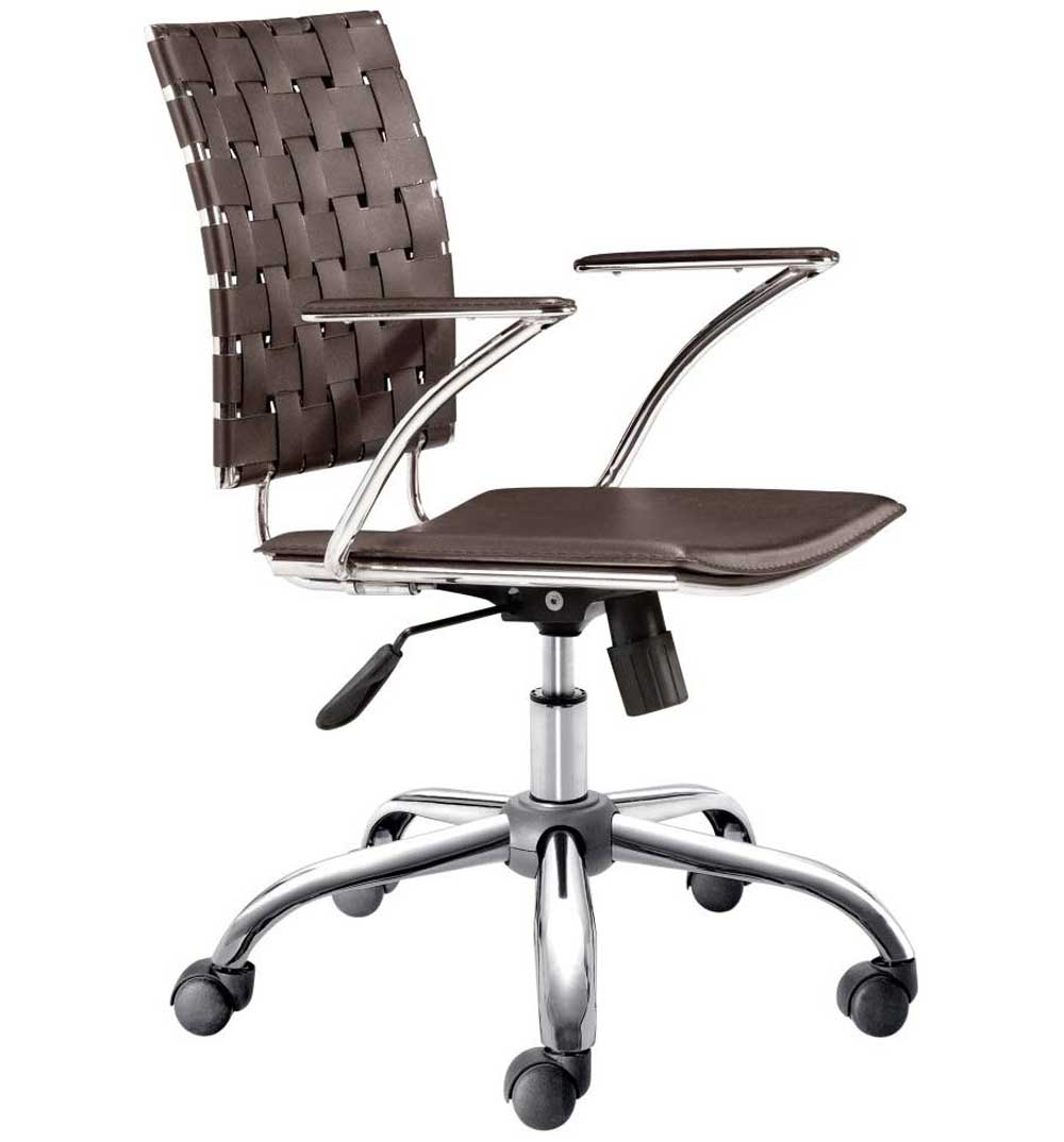 Zuo Modern Criss Cross Luxury Office Chair