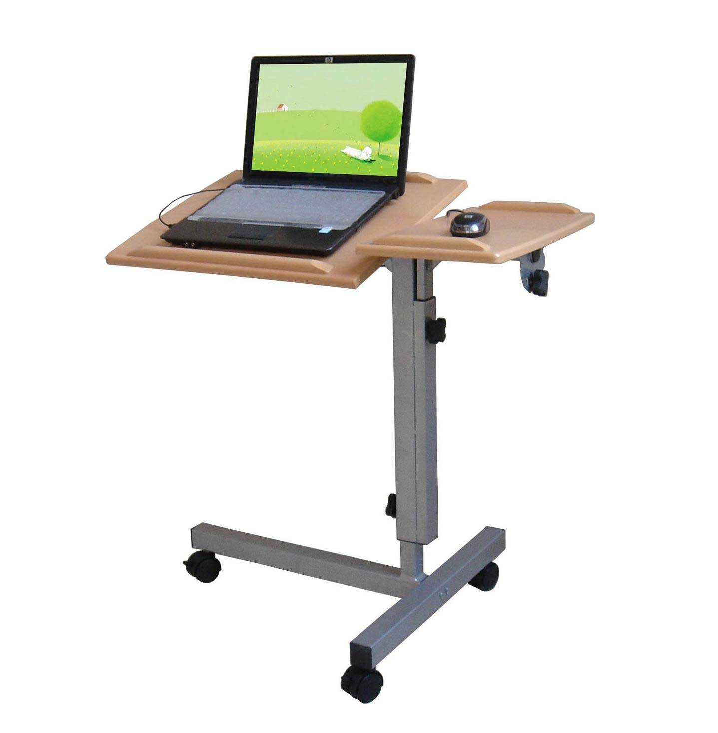 functional metal lifting table for laptop