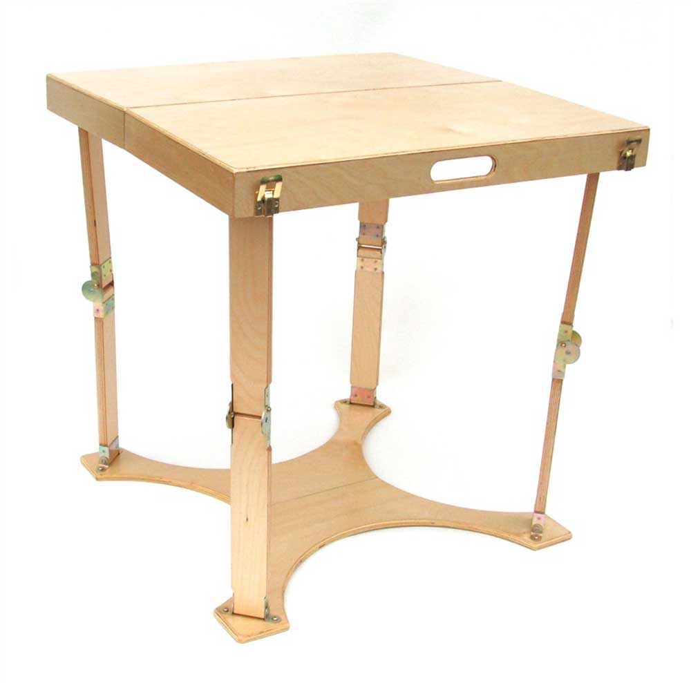 handcrafted spiderlegs portable computer desks