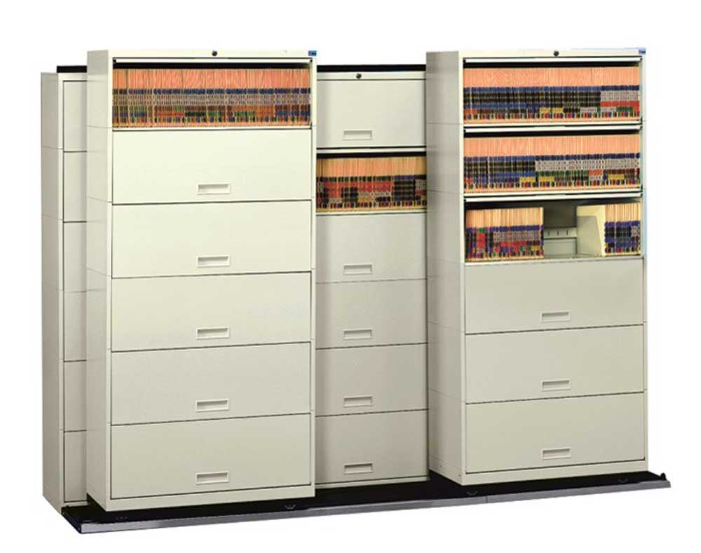 high density talksider cabinet system with HIPAA compliant
