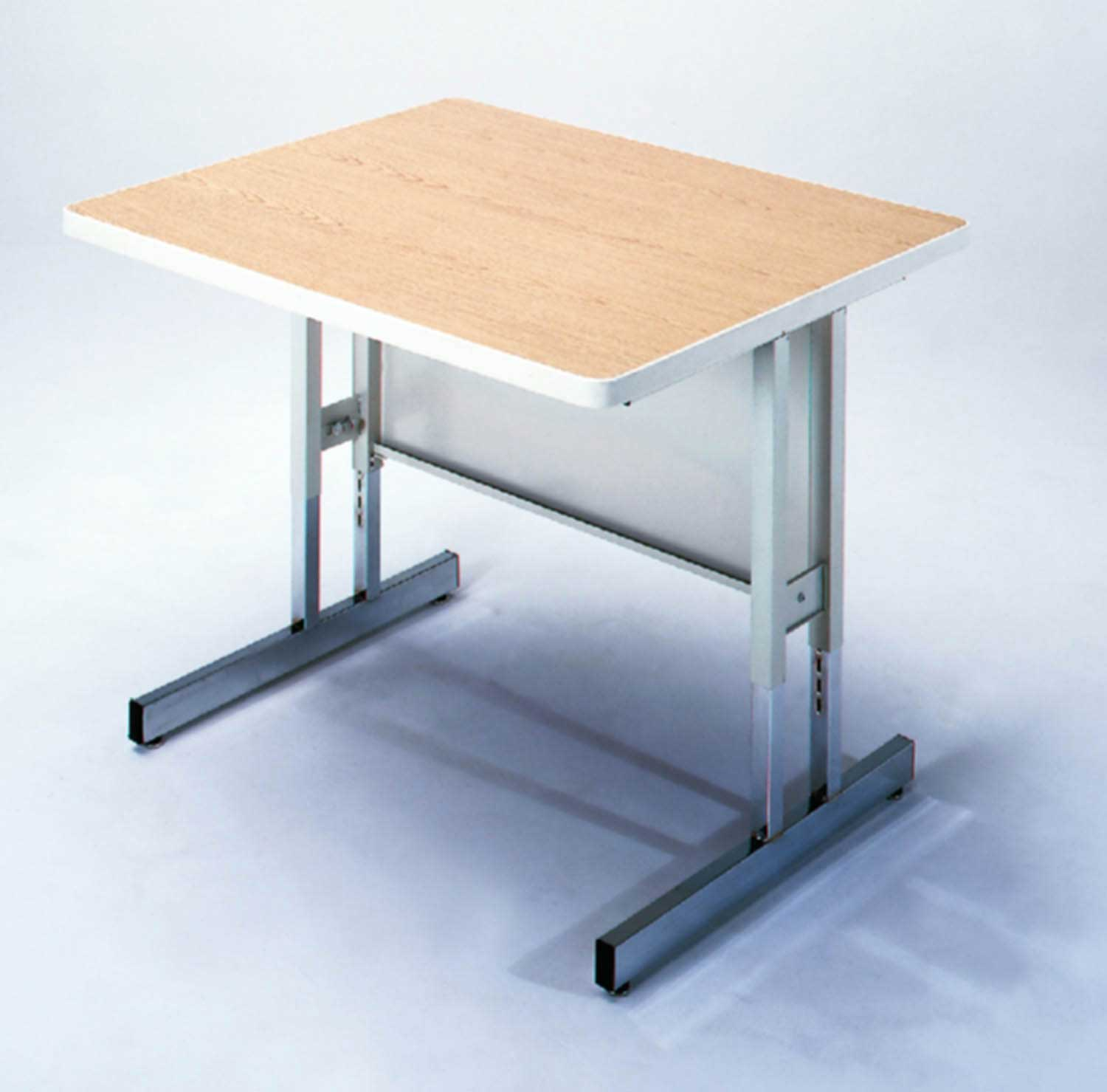 metal wood adjustable computer workstation