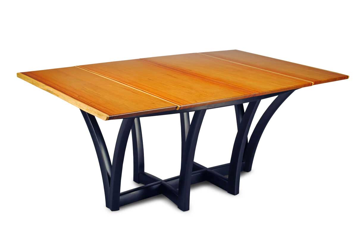 standard base two side folding table