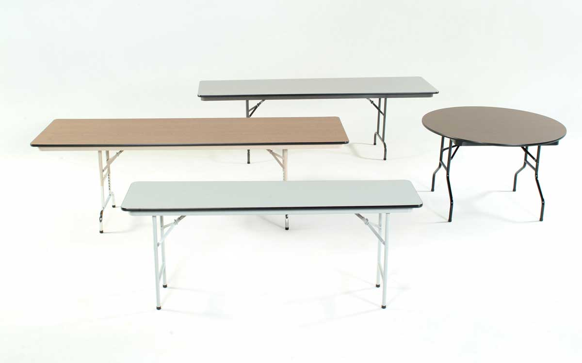 stylish and modern metal folding tables collection
