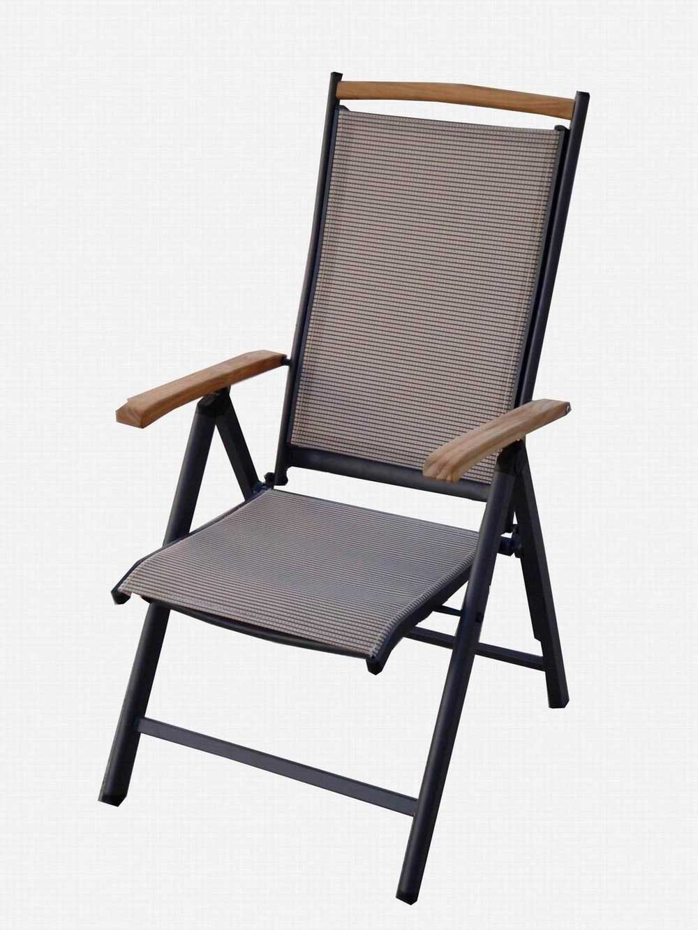 textileme home office folding chair with top aluminum frame