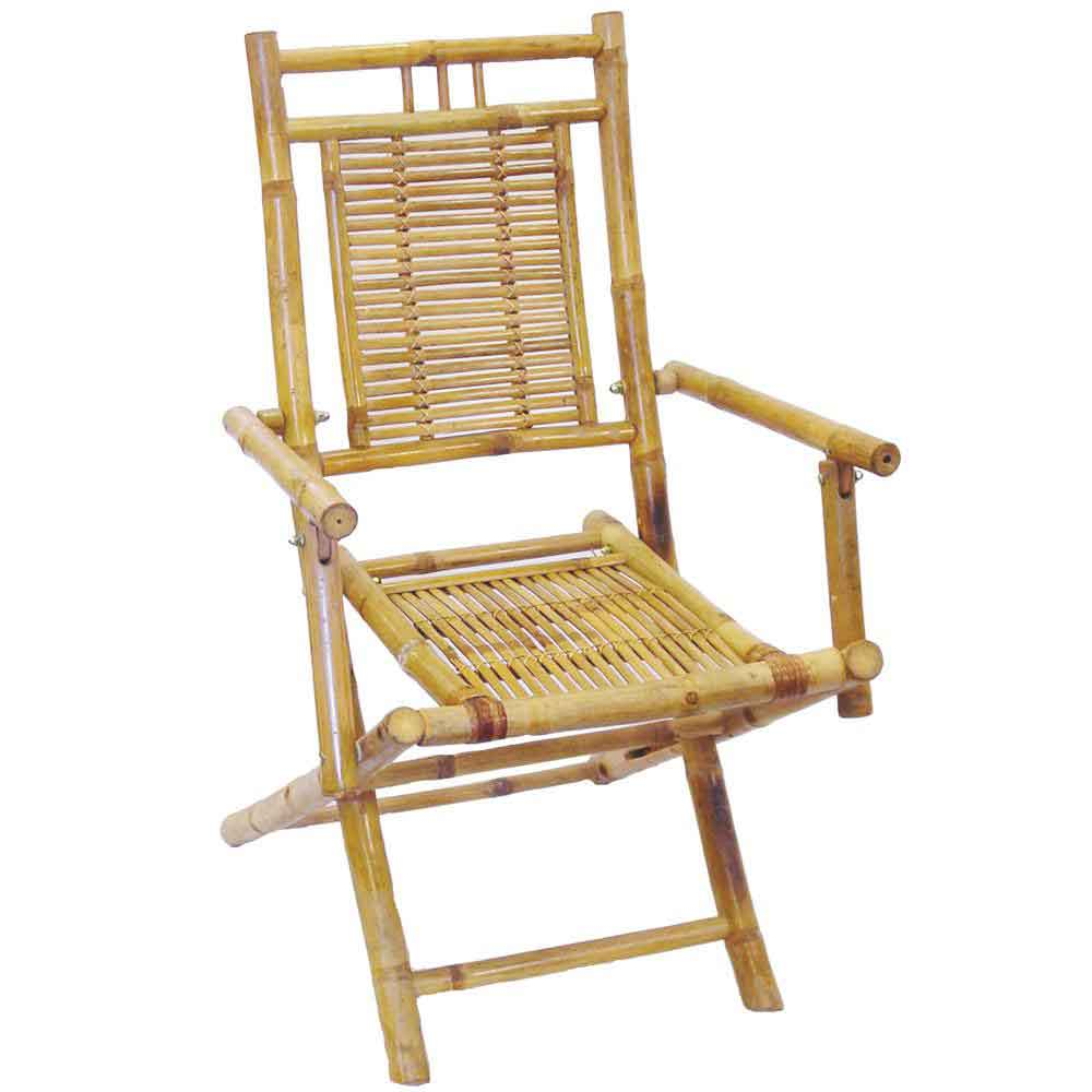 Bamboo antique home office folding chairs