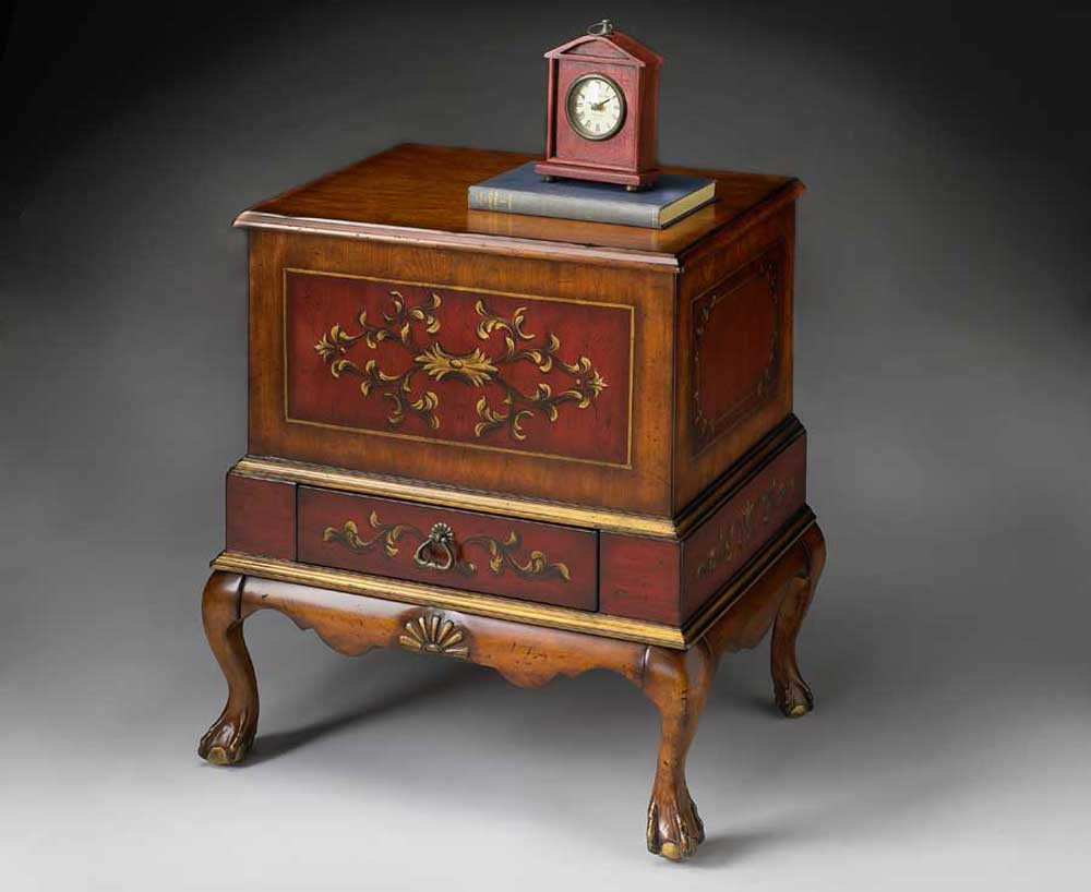 Butler Red Cherry Classic File Cabinet and Storage