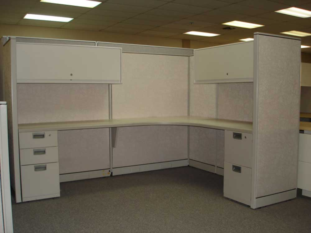 Ceiling Office White Cubicle Systems