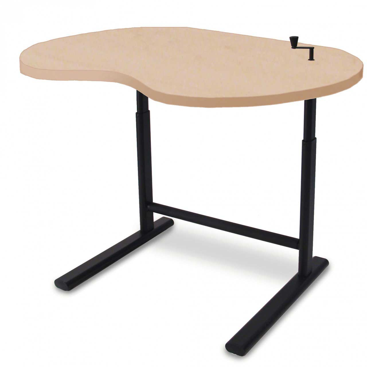 Cheap Solid Wood Adjustable Sit Stand Desk