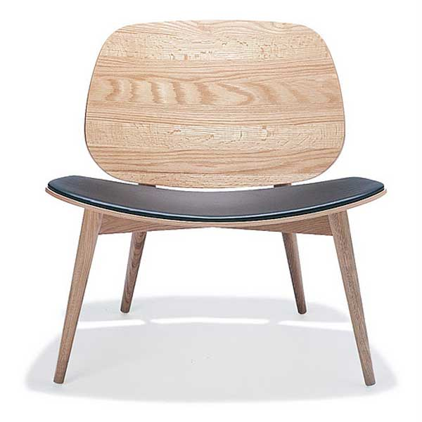 Contemporary Danish bentwood office furniture chair