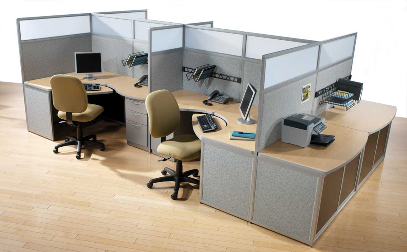 Custom Office Furniture Center Cubicle