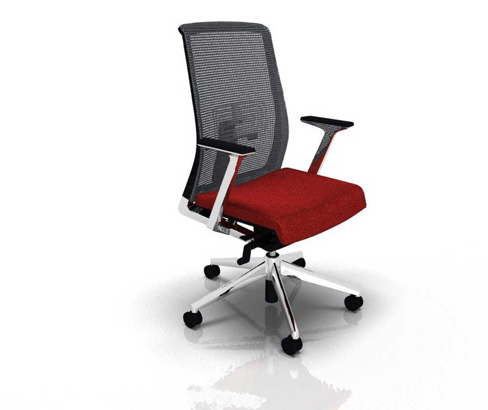 Haworth Italy modern home office mesh chair