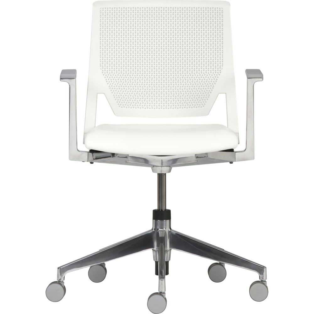 Haworth Very White Task Office Chair