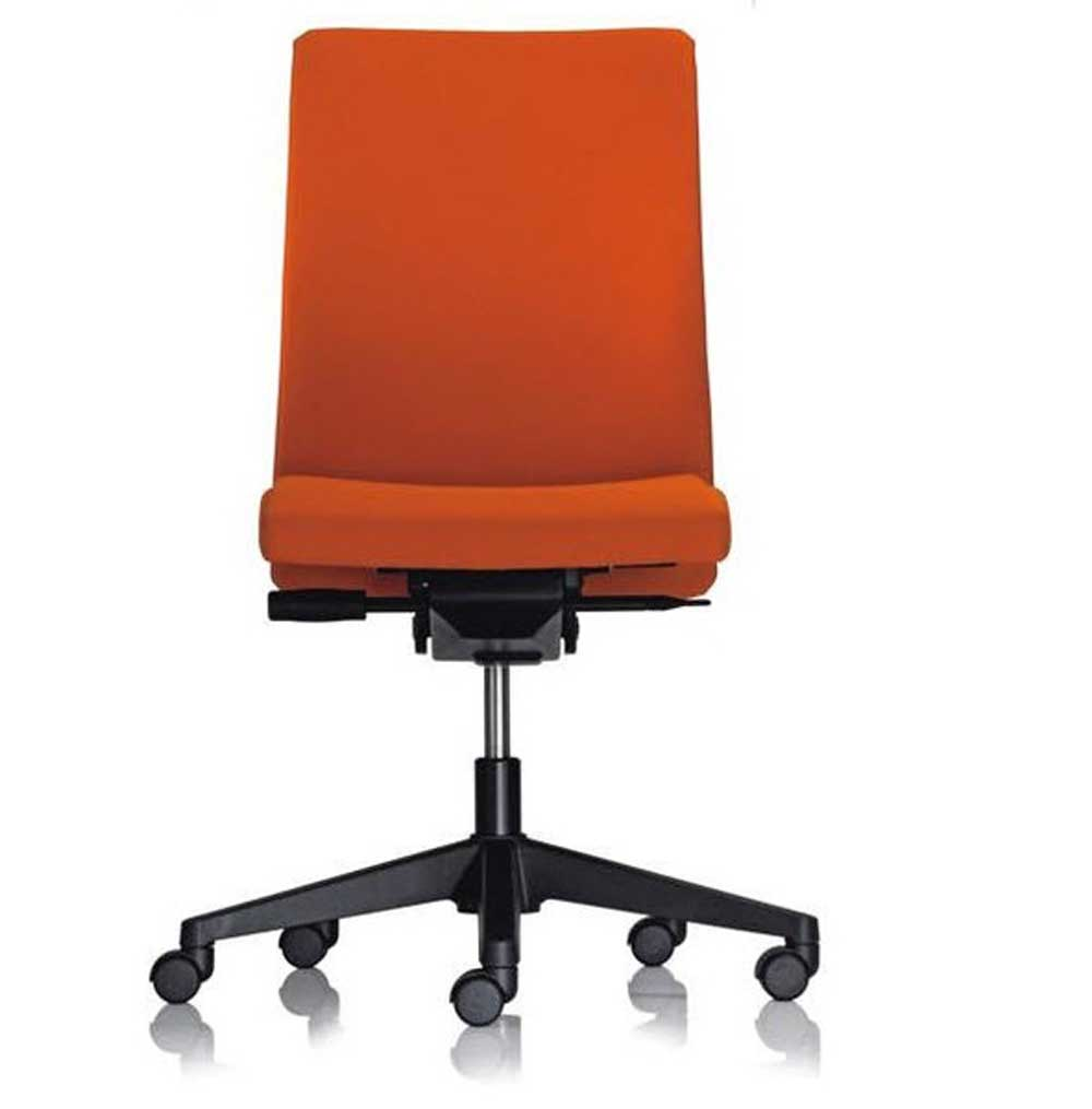 Haworth office chair SYSTEM 39 in orange