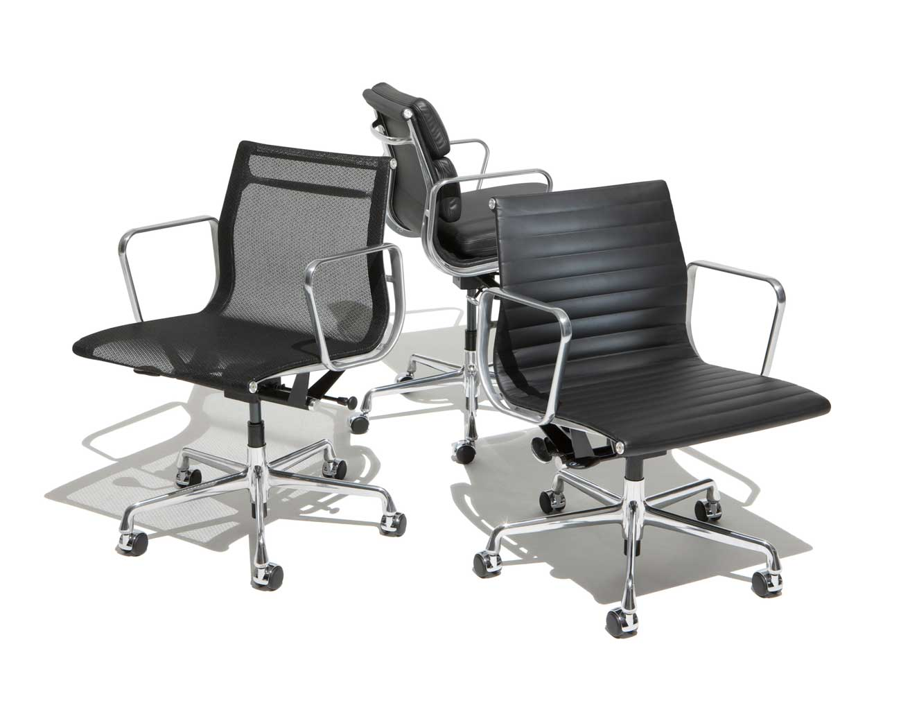 Herman Miller Aluminum Side Chair Collection