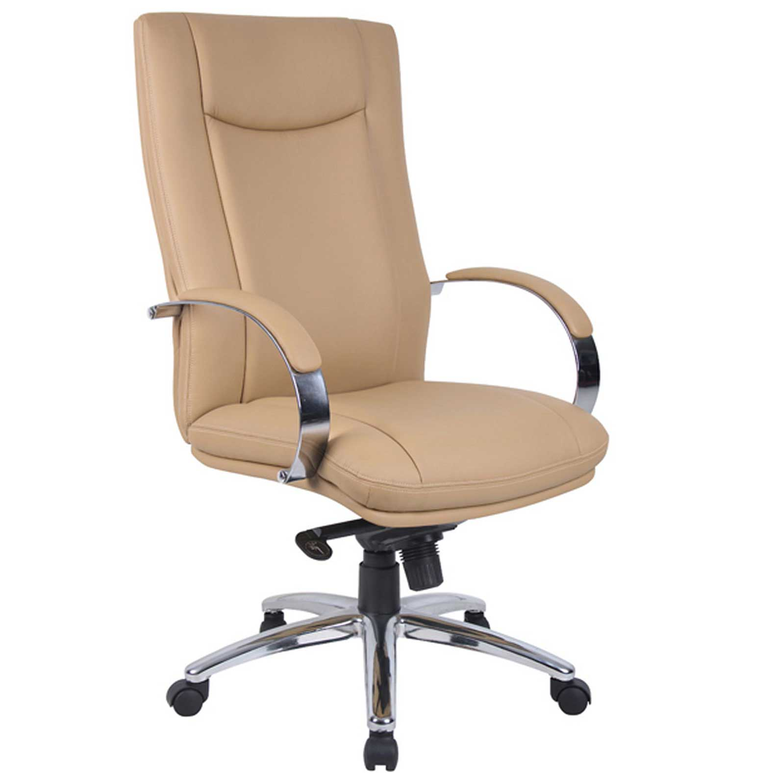 High Back Executive Leather Chair with Arms