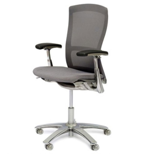 High back orthopedic office chair