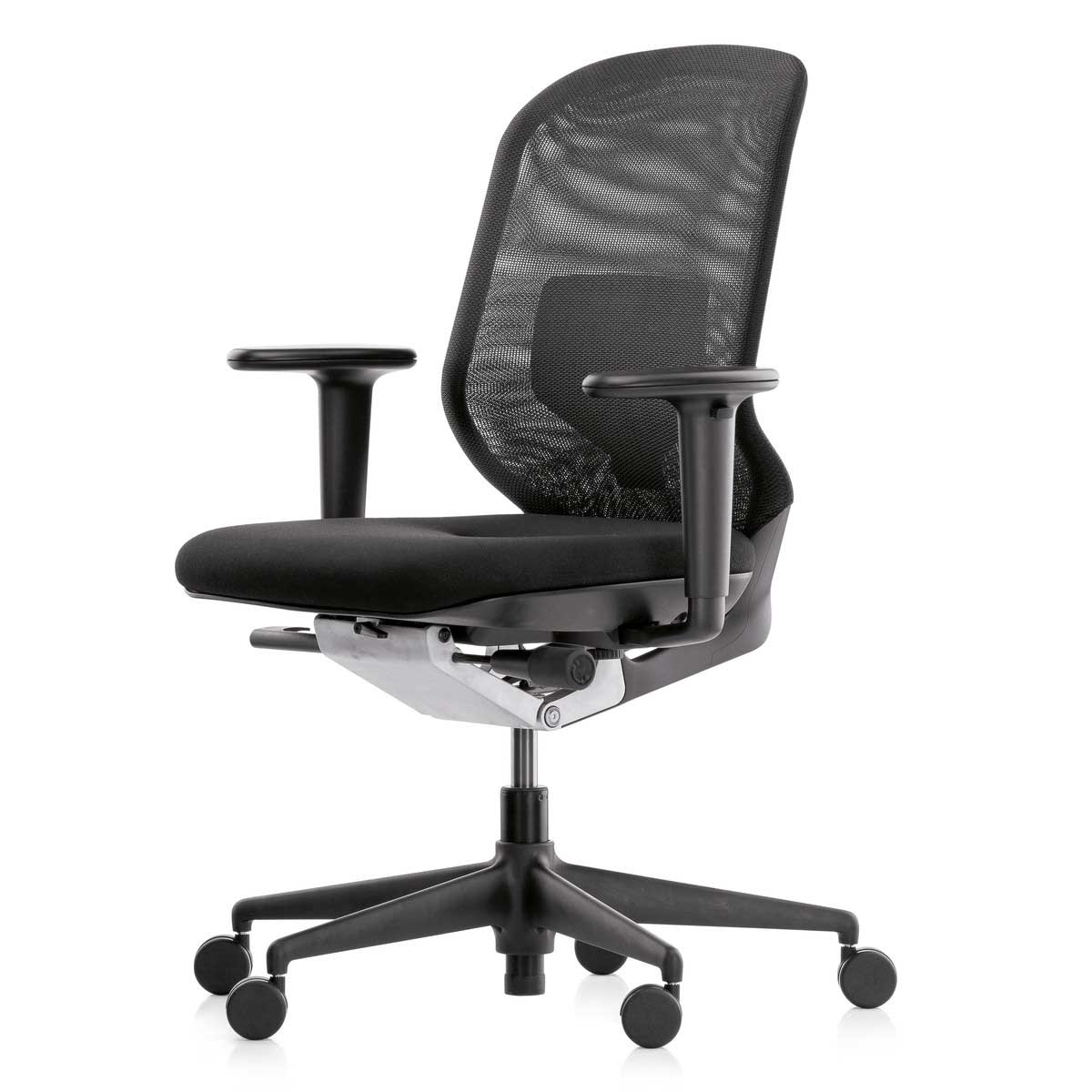 MedaPal Black Office Rotating Chair from Vitra