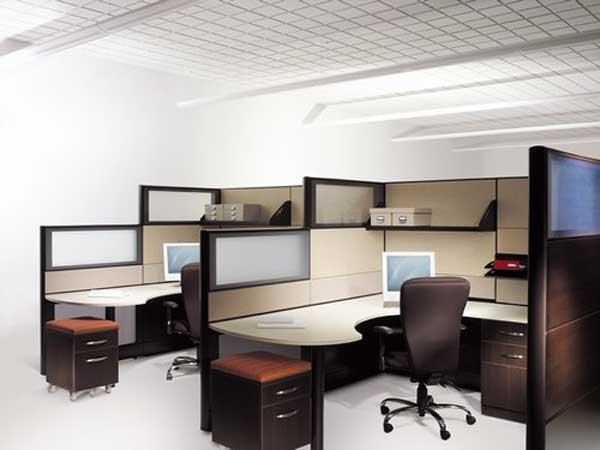 Modern Computer Desk Cubicle Design at Los Angeles