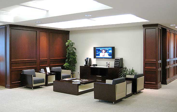 Multi Floor Cleveland Office Furniture Design