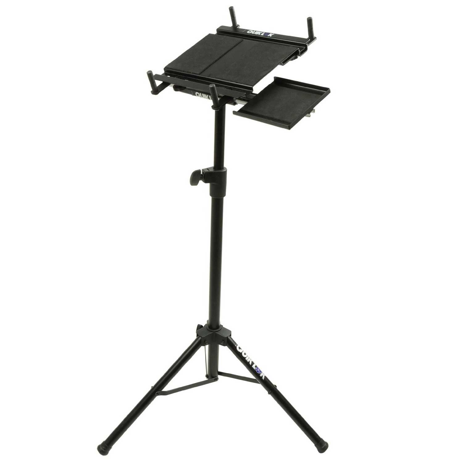 Quiklok Black Standing Laptop Desk Design