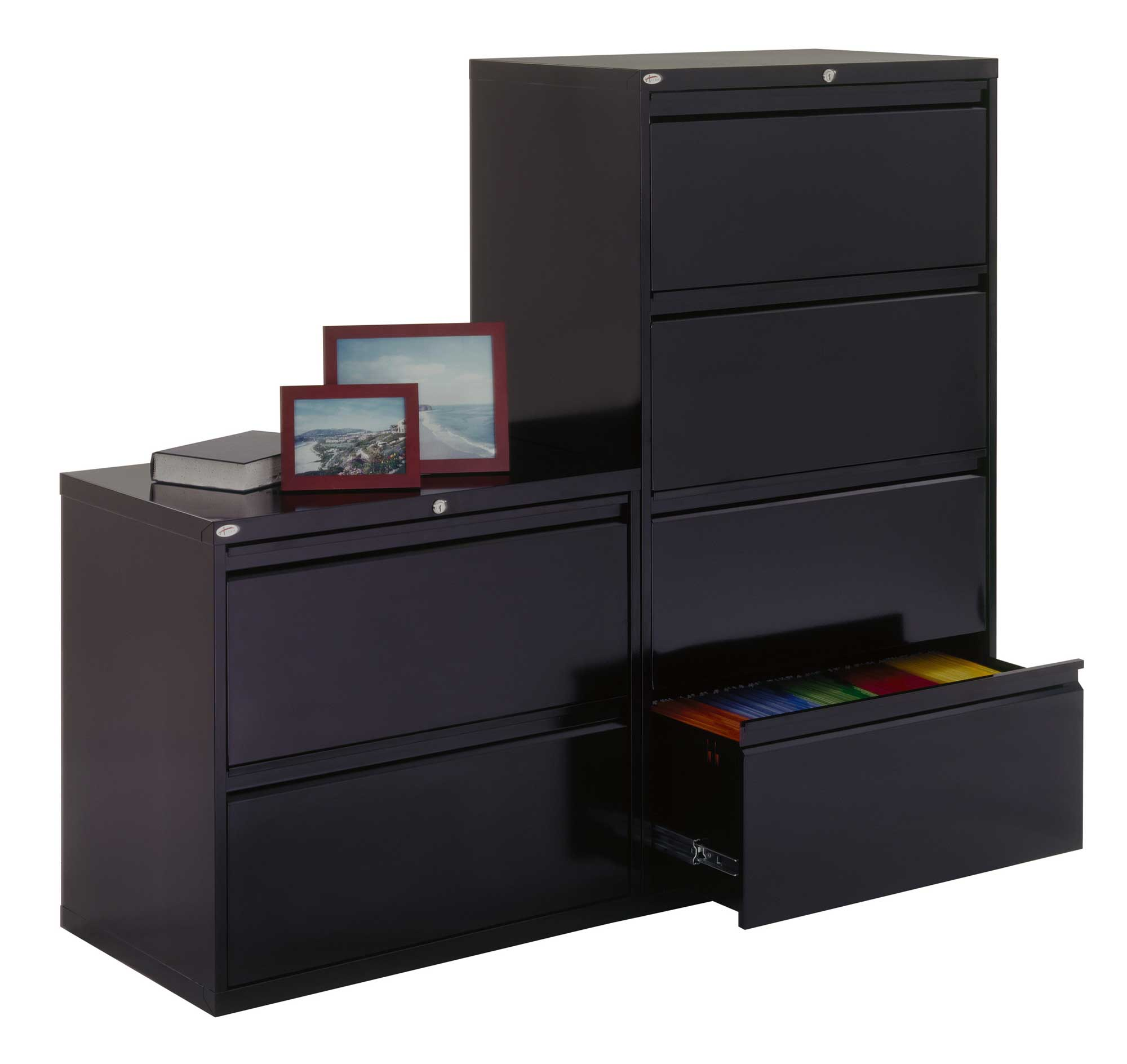 Sandusky Lee Horizontal Full Pull Filing Cabinets