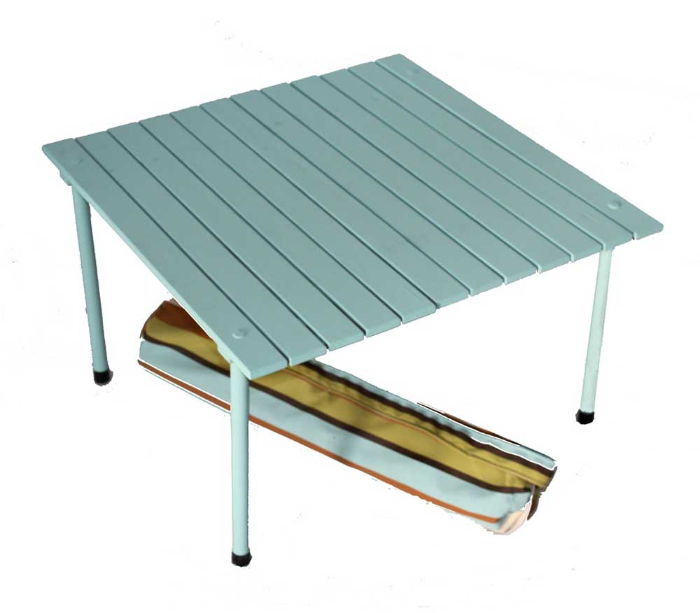 Solid Wood White Portable Desk with Bag
