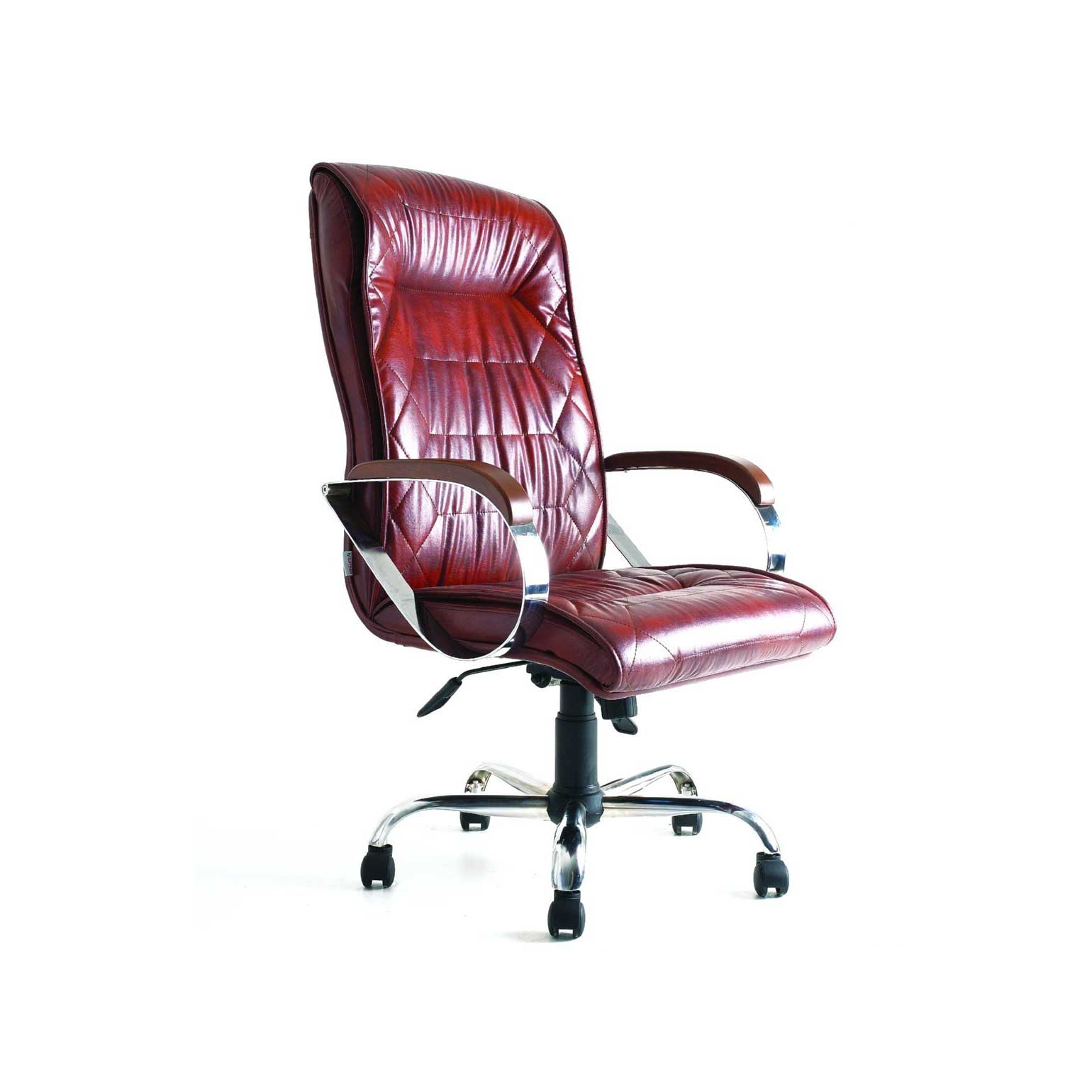 Stylish Red Executive Leather Chair
