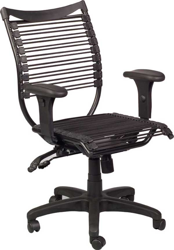 bungee ergonomic home office chair with arm