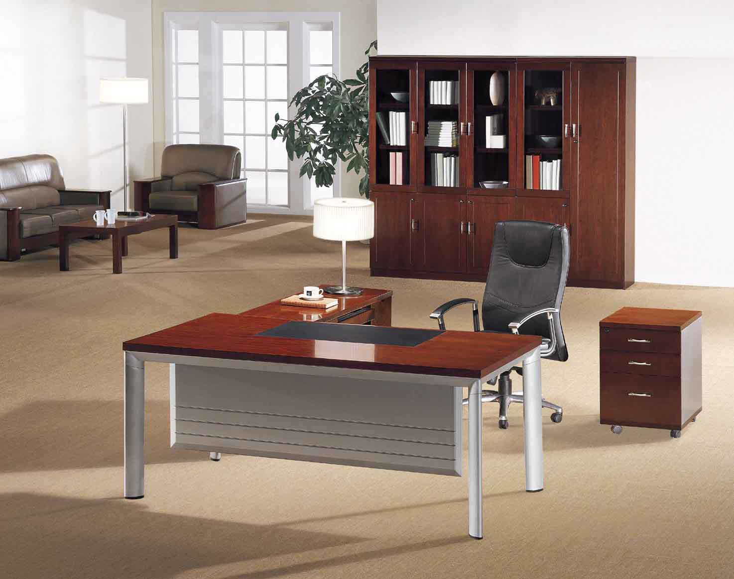 cheap modern executive desk and chairs
