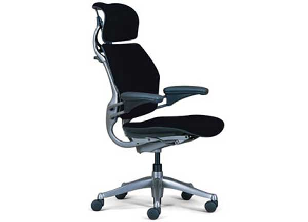 expensive home office chair with lumbar support