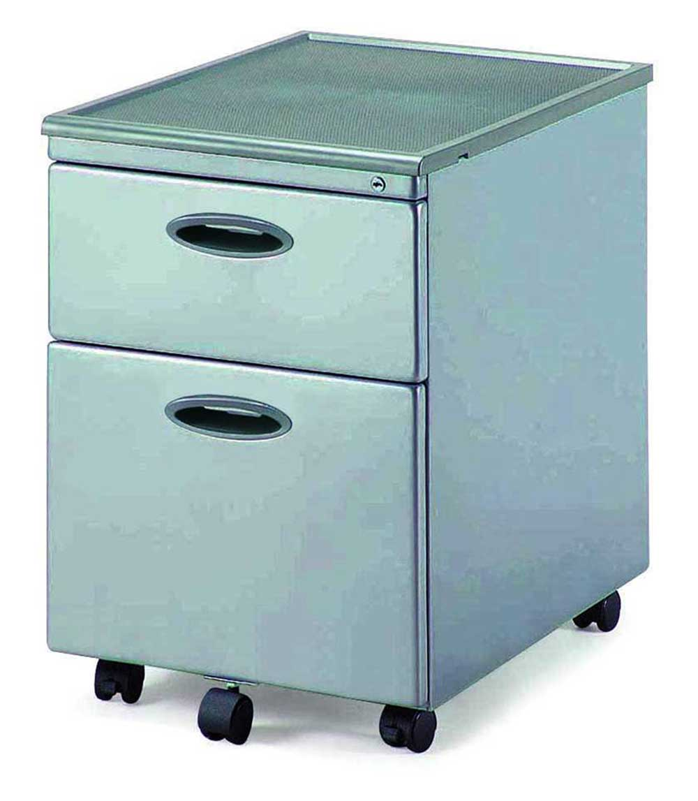 metal mobile file cabinet with lock